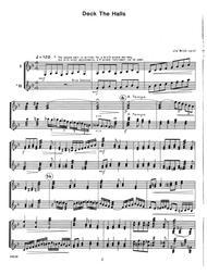 William Schinstine  Sheet Music 10 Christmas Carols for Two Marimbas Song Lyrics Guitar Tabs Piano Music Notes Songbook