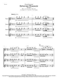 (Flute Quartet) Bohemian Rhapsody (Queen) sheet music