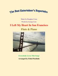 """I Left My Heart In San Francisco"" for Flute and Piano (Jazz/Pop Version) sheet music"