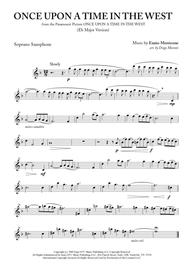 """Ennio Morricone  Sheet Music """"Once Upon A Time In The West"""" for Saxophone Quartet Song Lyrics Guitar Tabs Piano Music Notes Songbook"""