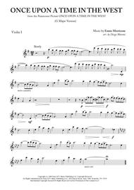 """Ennio Morricone  Sheet Music """"Once Upon A Time In The West"""" for String Quartet Song Lyrics Guitar Tabs Piano Music Notes Songbook"""