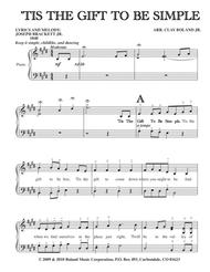 LYRICS AND MELODY: JOSEPH BRACKETT JR. 1848