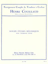 Henri Couillaud  Sheet Music 12 Etudes Melodiques Song Lyrics Guitar Tabs Piano Music Notes Songbook