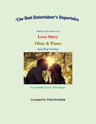 """Frances Lai  Sheet Music """"Love Story"""" for Oboe and Piano-Jazz/Pop Version-Video Song Lyrics Guitar Tabs Piano Music Notes Songbook"""