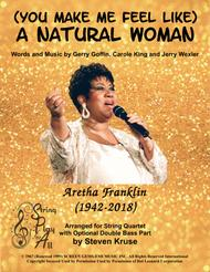Aretha Franklin  Sheet Music (You Make Me Feel Like) A Natural Woman for String Quartet or Quintet (with Bass) Song Lyrics Guitar Tabs Piano Music Notes Songbook