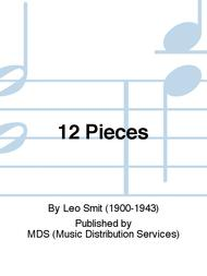 Leo Smit  Sheet Music 12 Pieces Song Lyrics Guitar Tabs Piano Music Notes Songbook