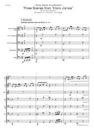 "Zoltan Kodaly  Sheet Music < Brass Septet and Glocken> Three Scenes from ""Háry János"" Song Lyrics Guitar Tabs Piano Music Notes Songbook"