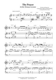"""Celtic Woman, Chloë Agnew  Sheet Music """"The Prayer"""" - arranged for SA choir (or vocal duet) with piano accompaniment (based on Celtic Woman's version) Song Lyrics Guitar Tabs Piano Music Notes Songbook"""
