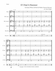 """Trini Lopez  Sheet Music """"If I Had A Hammer"""" By Trini Lopez for Steel Band Song Lyrics Guitar Tabs Piano Music Notes Songbook"""