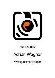 "Andrew Linn  Sheet Music ""Olympic Theme"" (Leo Arnaud) Flute Quartet (B.Fl.) arr. Adrian Wagner Song Lyrics Guitar Tabs Piano Music Notes Songbook"