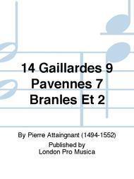 Pierre Attaingnant  Sheet Music 14 Gaillardes 9 Pavennes 7 Branles Et 2 Song Lyrics Guitar Tabs Piano Music Notes Songbook