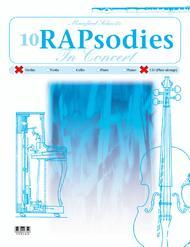 Manfred Schmitz  Sheet Music 10 RAPsodies In Concert-Violin Song Lyrics Guitar Tabs Piano Music Notes Songbook