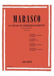 G. Marasco  Sheet Music 10 Studi Di Perfezionamento Song Lyrics Guitar Tabs Piano Music Notes Songbook