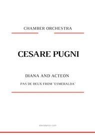 "Cesare Pugni  Sheet Music ""Diana and Acteon"" pas de deux from  ""Esmeralda"" Song Lyrics Guitar Tabs Piano Music Notes Songbook"