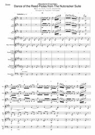 Peter Ilyich Tchaikovsky  Sheet Music <Woodwind Ensemble> Dance of the Reed-Flutes from The Nutcracker Suite Song Lyrics Guitar Tabs Piano Music Notes Songbook