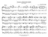 "George Frideric Handel  Sheet Music ""Hallelujah"" Chorus - Handel's 'Messiah' Organ solo Song Lyrics Guitar Tabs Piano Music Notes Songbook"