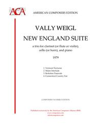Vally Weigl  Sheet Music [WeiglV] New England Suite Song Lyrics Guitar Tabs Piano Music Notes Songbook