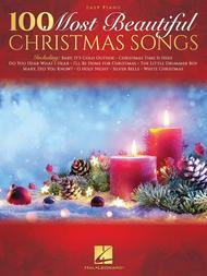 Various  Sheet Music 100 Most Beautiful Christmas Songs Song Lyrics Guitar Tabs Piano Music Notes Songbook