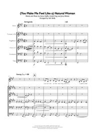 Carole King  Sheet Music (You Make Me Feel Like) A Natural Woman for Brass Quintet Song Lyrics Guitar Tabs Piano Music Notes Songbook