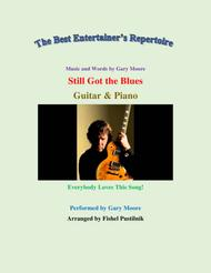 """Gary Moore  Sheet Music """"Still Got The Blues"""" for Guitar and Piano-Video Song Lyrics Guitar Tabs Piano Music Notes Songbook"""