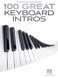 Various  Sheet Music 100 Great Keyboard Intros Song Lyrics Guitar Tabs Piano Music Notes Songbook