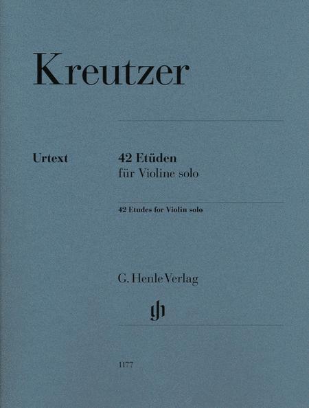 42 Etudes for Violin Solo