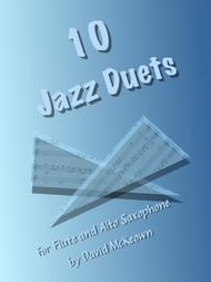 David McKeown  Sheet Music 10 Jazz Duets for Flute and Alto Saxophone Song Lyrics Guitar Tabs Piano Music Notes Songbook