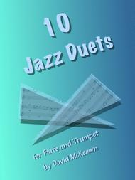 David McKeown  Sheet Music 10 Jazz Duets for Flute and Trumpet Song Lyrics Guitar Tabs Piano Music Notes Songbook