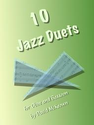David McKeown  Sheet Music 10 Jazz Duets for Oboe and Bassoon Song Lyrics Guitar Tabs Piano Music Notes Songbook