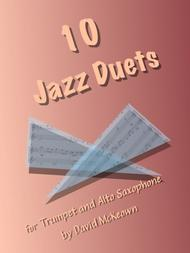 David McKeown  Sheet Music 10 Jazz Duets for Trumpet and Alto Saxophone Song Lyrics Guitar Tabs Piano Music Notes Songbook