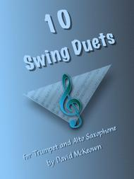 David McKeown  Sheet Music 10 Swing Duets for Trumpet and Alto Saxophone Song Lyrics Guitar Tabs Piano Music Notes Songbook