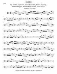 Dan + Shay  Sheet Music 10,000 Hours (with Justin Bieber) Viola Song Lyrics Guitar Tabs Piano Music Notes Songbook