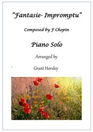 """F Chopin  Sheet Music """"Fantasie-Impromptu"""" F. Chopin. Piano solo Simplified version Song Lyrics Guitar Tabs Piano Music Notes Songbook"""