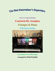 "Fishel Pustilnik  Sheet Music ""Concerto De Aranjuez"" for Trumpet and Piano-Video Song Lyrics Guitar Tabs Piano Music Notes Songbook"
