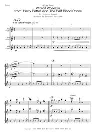 Tsuyoshi Yoroiguma  Sheet Music <Flute Trio> Wizard Wheezes from Harry Potter And The Half Blood Prince Song Lyrics Guitar Tabs Piano Music Notes Songbook