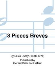 3 Pieces Breves sheet music