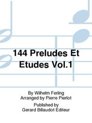 Franz Ferling  Sheet Music 144 Preludes et Etudes Vol.1 Song Lyrics Guitar Tabs Piano Music Notes Songbook