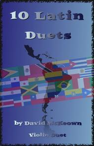 David McKeown  Sheet Music 10 Latin Duets, for Violin Song Lyrics Guitar Tabs Piano Music Notes Songbook