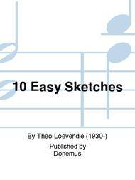 Theo Loevendie  Sheet Music 10 Easy Sketches Song Lyrics Guitar Tabs Piano Music Notes Songbook