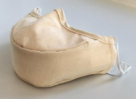Singer's Mask Youth Size with Elastic Ear Loops (Beige)