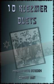 Various  Sheet Music 10 Klezmer Duets for Clarinet Song Lyrics Guitar Tabs Piano Music Notes Songbook