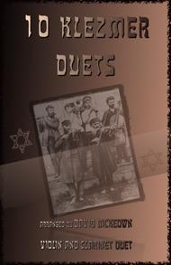 Various  Sheet Music 10 Klezmer Duets for Violin and Clarinet Song Lyrics Guitar Tabs Piano Music Notes Songbook