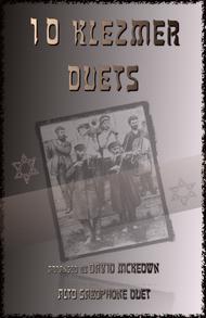 Various  Sheet Music 10 Klezmer Duets for Alto Saxophone Song Lyrics Guitar Tabs Piano Music Notes Songbook
