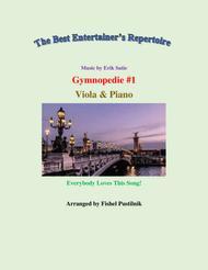 "Fishel Pustilnik  Sheet Music ""Gymnopedie Nr. 1"" for Viola and Piano-Video Song Lyrics Guitar Tabs Piano Music Notes Songbook"