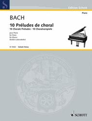 Johann Sebastian Bach  Sheet Music 10 Chorale Preludes Song Lyrics Guitar Tabs Piano Music Notes Songbook