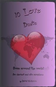 David McKeown  Sheet Music 10 Love Duets for Clarinet and Alto Saxophone Song Lyrics Guitar Tabs Piano Music Notes Songbook