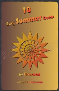 David McKeown  Sheet Music 10 Easy Summer Duets for Bassoon Song Lyrics Guitar Tabs Piano Music Notes Songbook