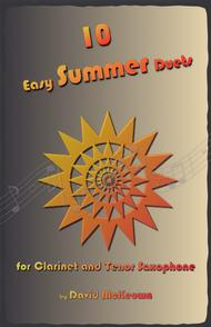 David McKeown  Sheet Music 10 Easy Summer Duets for Clarinet and Tenor Saxophone Song Lyrics Guitar Tabs Piano Music Notes Songbook
