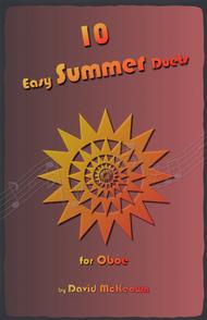 David McKeown  Sheet Music 10 Easy Summer Duets for Oboe Song Lyrics Guitar Tabs Piano Music Notes Songbook