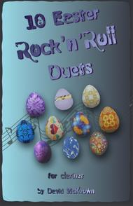David McKeown  Sheet Music 10 Easter Rock'n'Roll Duets for Clarinet Song Lyrics Guitar Tabs Piano Music Notes Songbook